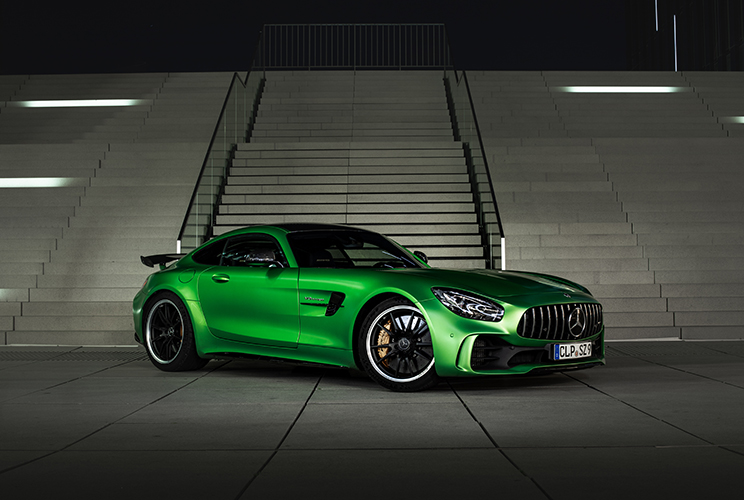 Mercedes-Benz AMG GTR fahren
